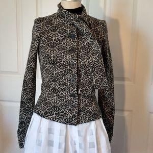 Diane Von Furstenberg DVF Tie Neck Sweater Top